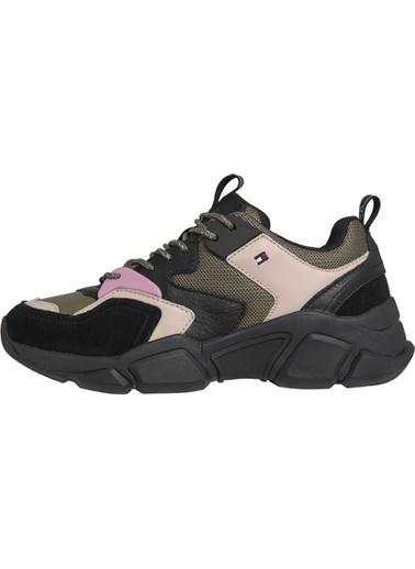 Tommy Hilfiger Kadın Cosy Chunky Sneaker Sneakers FW0FW04293 Gri
